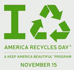 """Annual """"America Recycles Day"""" is Nov. 15"""