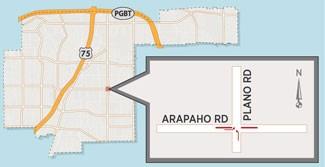 Ramp Construction May Close Lanes Near Arapaho/Plano Intersection