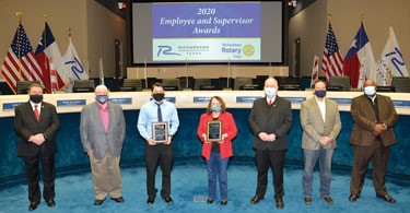 City Employees Honored by Richardson Rotary Club