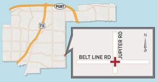 Various Lanes to Close at Jupiter/Belt Line Intersection