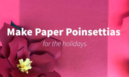 Arts & Crafts @RPL: Paper Poinsettias