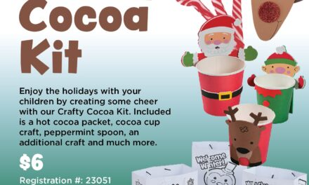 "More Family Holiday Fun: ""Crafty Cocoa Kits"""