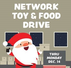 Fire Department Announces Toy/Food Drive Benefiting Network