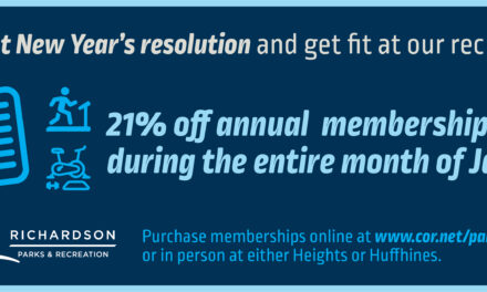 Rec Centers Offer Discounted Memberships in January