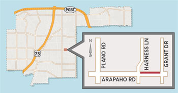 Lane Closures Planned for Arapaho Road