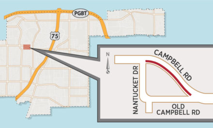 Lane Closures on Campbell Road