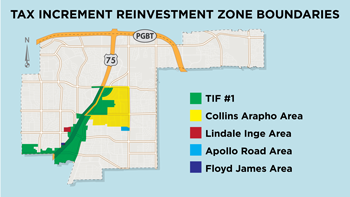 Property in IQ®, Lockwood District Part of Expanded Reinvestment Zone