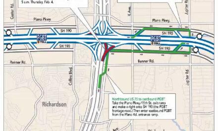 NTTA Traffic Advisory- President George Bush Turnpike
