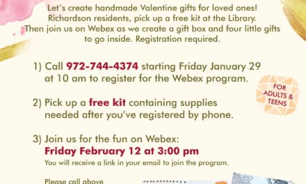 Register Now to Make Artsy Valentine Gifts