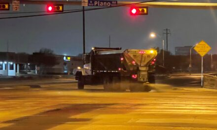 City crews respond to winter weather