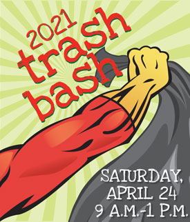 Save the Date: Trash Bash is April 24
