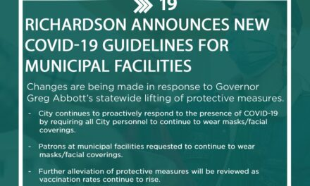City Updates COVID-19 Policies for Facilities