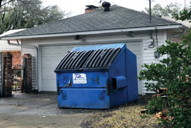 Debris Collection Continues; Rent-a-Bins Available