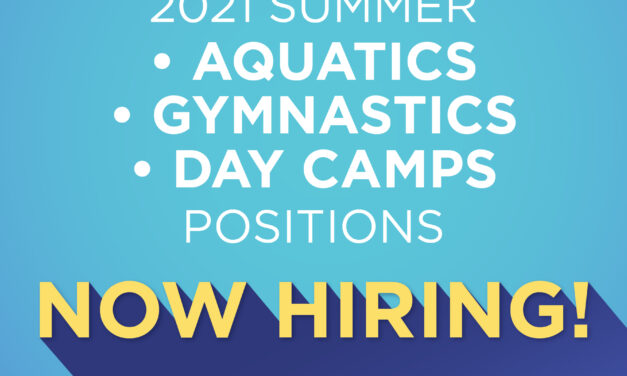 Parks and Recreation Looking for Summer Workers