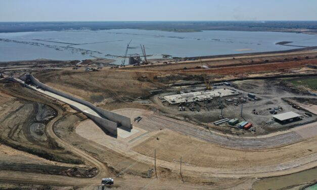 First Major Reservoir in Texas in Nearly 30 Years Now Filling