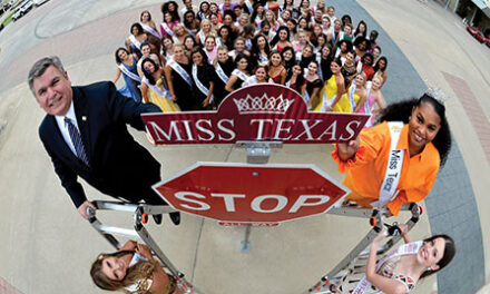 Miss Texas Pageant to Continue at Eisemann Center; Sign Toppers Installed