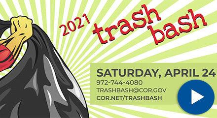 City Hosts Trash Bash Saturday