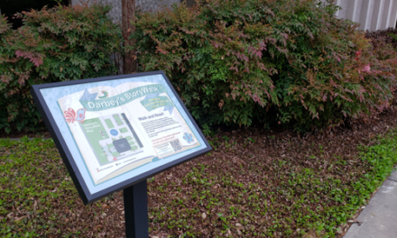 New Book Installed in Darbey's StoryWalk®