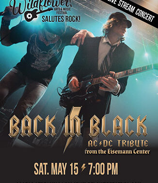 """Wildflower! Arts & Music Festival """"Salutes Rock"""" with Free Streaming Concert"""