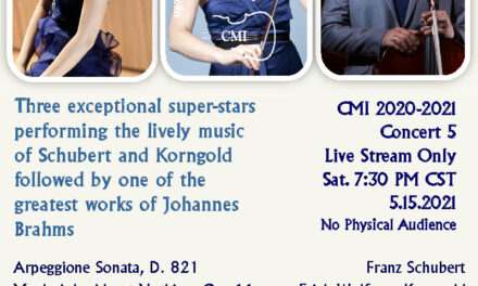 "Chamber Music International Virtual ""Concert 5"" May 15"