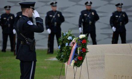 Police Memorial Service Held