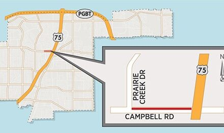 Utility Work to Close Lanes on Campbell Road