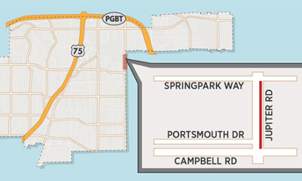 Lane Closure Expected on Jupiter Road North of Campbell Road