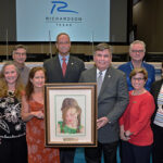 RCAS Donates Painting to Library
