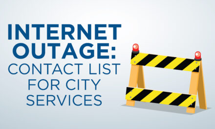 City Contact List During Website Outage