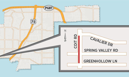Lane Closures Expected south of Coit/Spring Valley