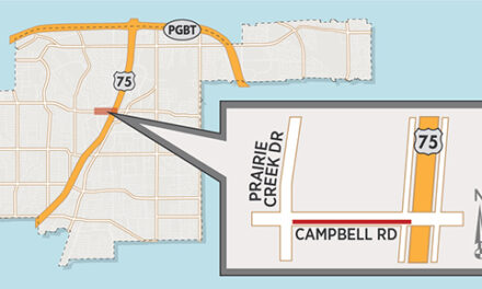 Campbell Road Widening Heads Into Final Phase; Section of Eastbound Lane Temporarily Closed