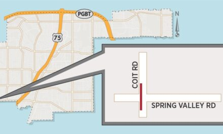 Lane Closure Expected at Coit/Spring Valley Intersection