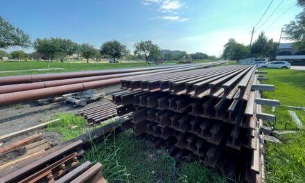 DART Begins Work At UT Dallas Silver Line Rail Stop