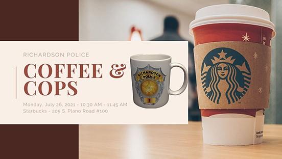 """RPD Restarts """"Coffee & Cops"""" Program July 26"""