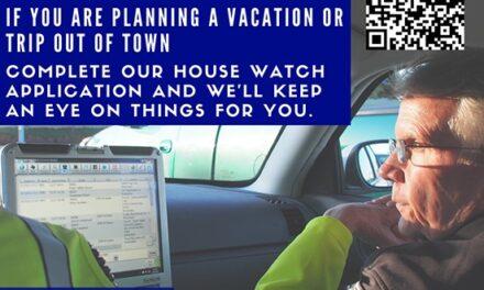 Richardson Police Provide Free House Watch Program