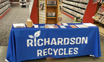 Recycling Program Promoted with Blue Bag Giveaway