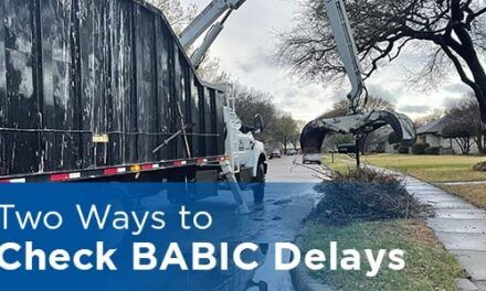 City Offers Two Ways to Check BABICDelays