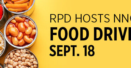"""RPD """"Can Do"""" Food Drive Sept. 18"""