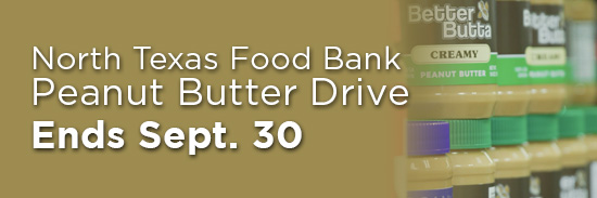 Peanut Butter Drive Ends Sept. 30