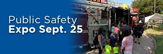 Public Safety Expo Sept. 25