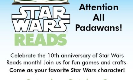 Star Wars Reads Day is Saturday