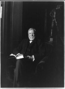 Andrew Carnegie (c. 1905).(Library of Congress)