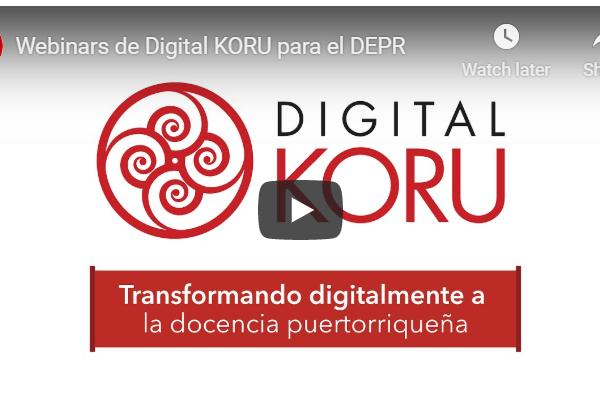 Digitally transforming Puerto Rican teaching