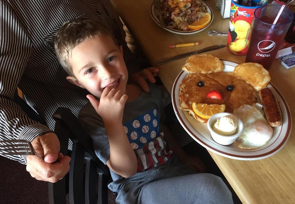 Palmer's breakfast for kids