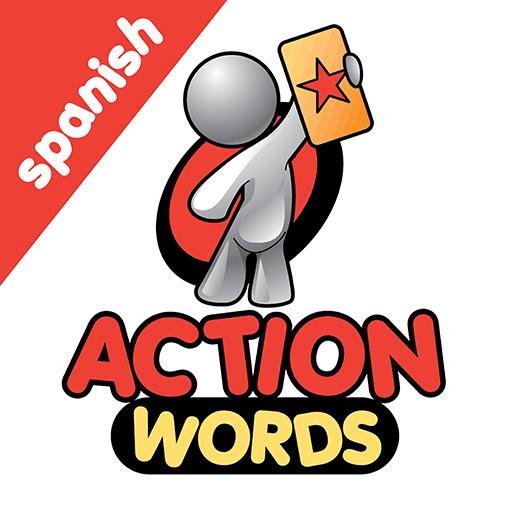 Spanish Action Words Logo