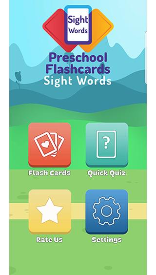 Flashcards: Sight Words