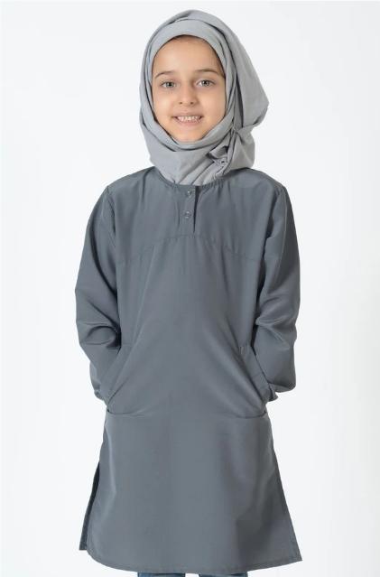 35 inches Extra Long Uniform Kurti- Kids Size