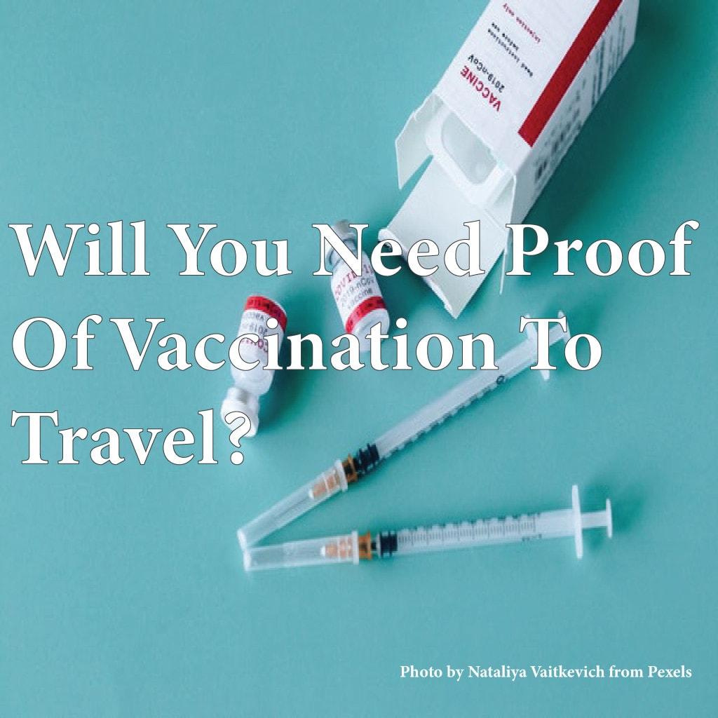 Will you need a coronavirus vaccine to travel