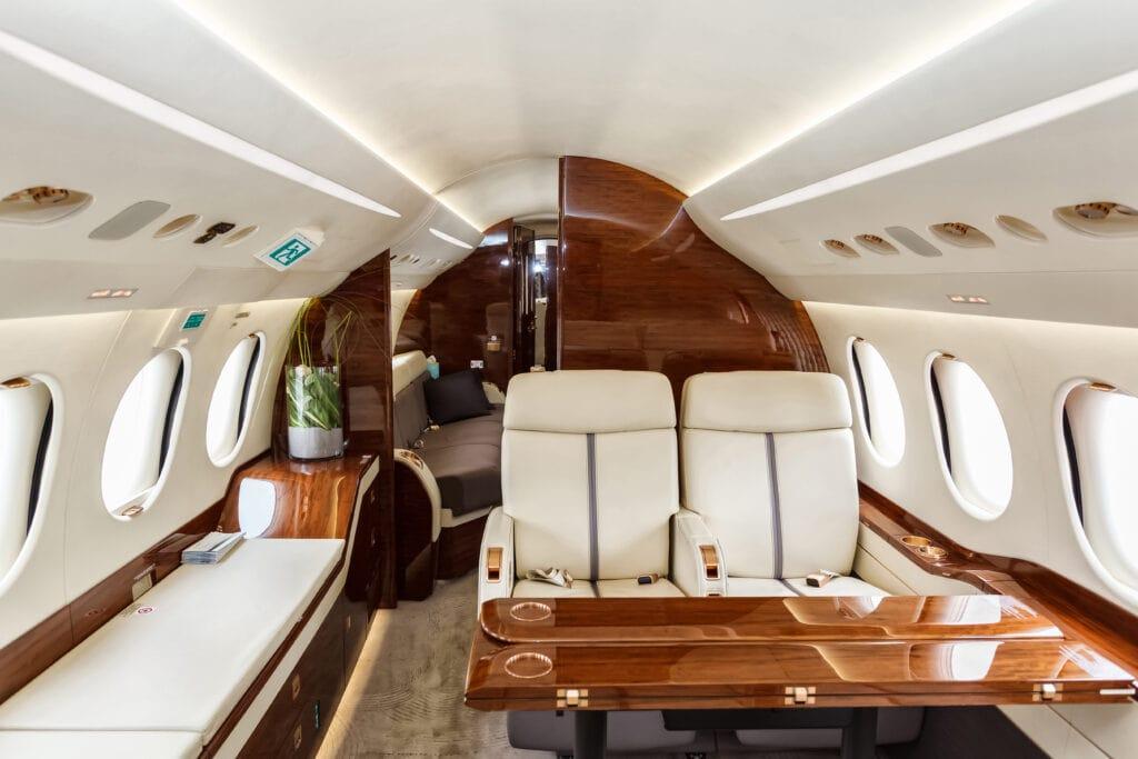 Aircraft veneering and custom aircraft seat