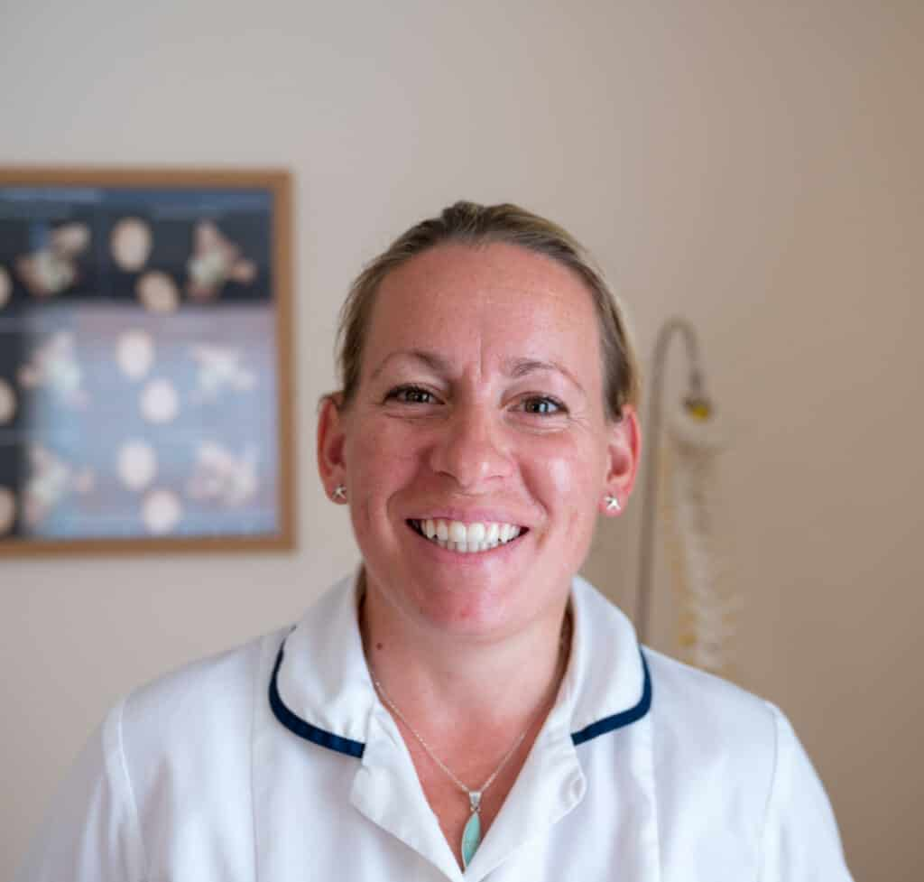 Esme Connelly- McTimoney Chiropractor -Wootton Chiropractic Clinic